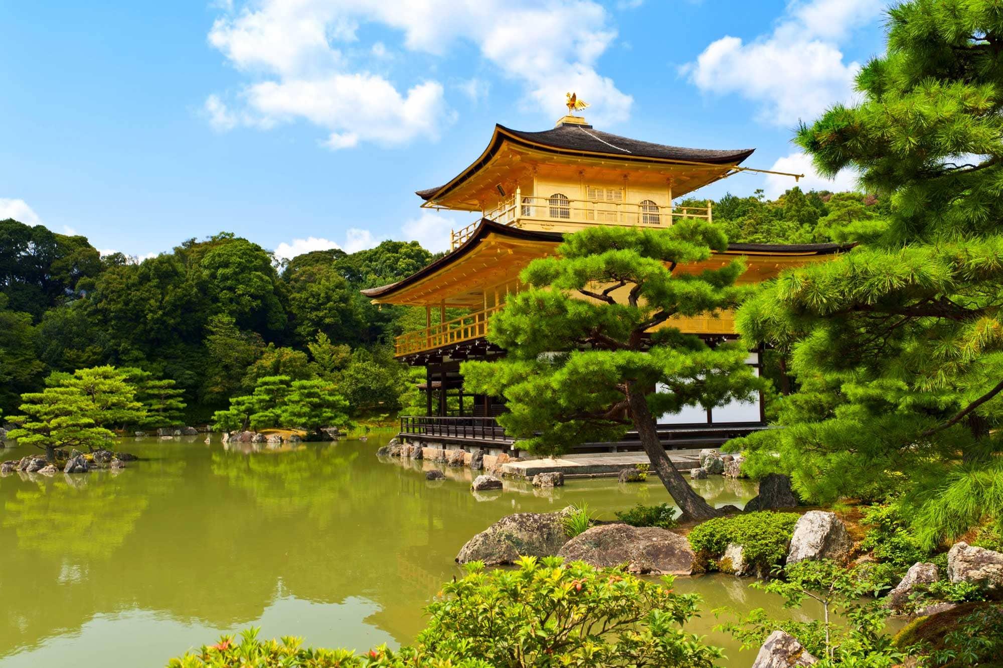 Золотой павильон (Кинкаку-дзи)
