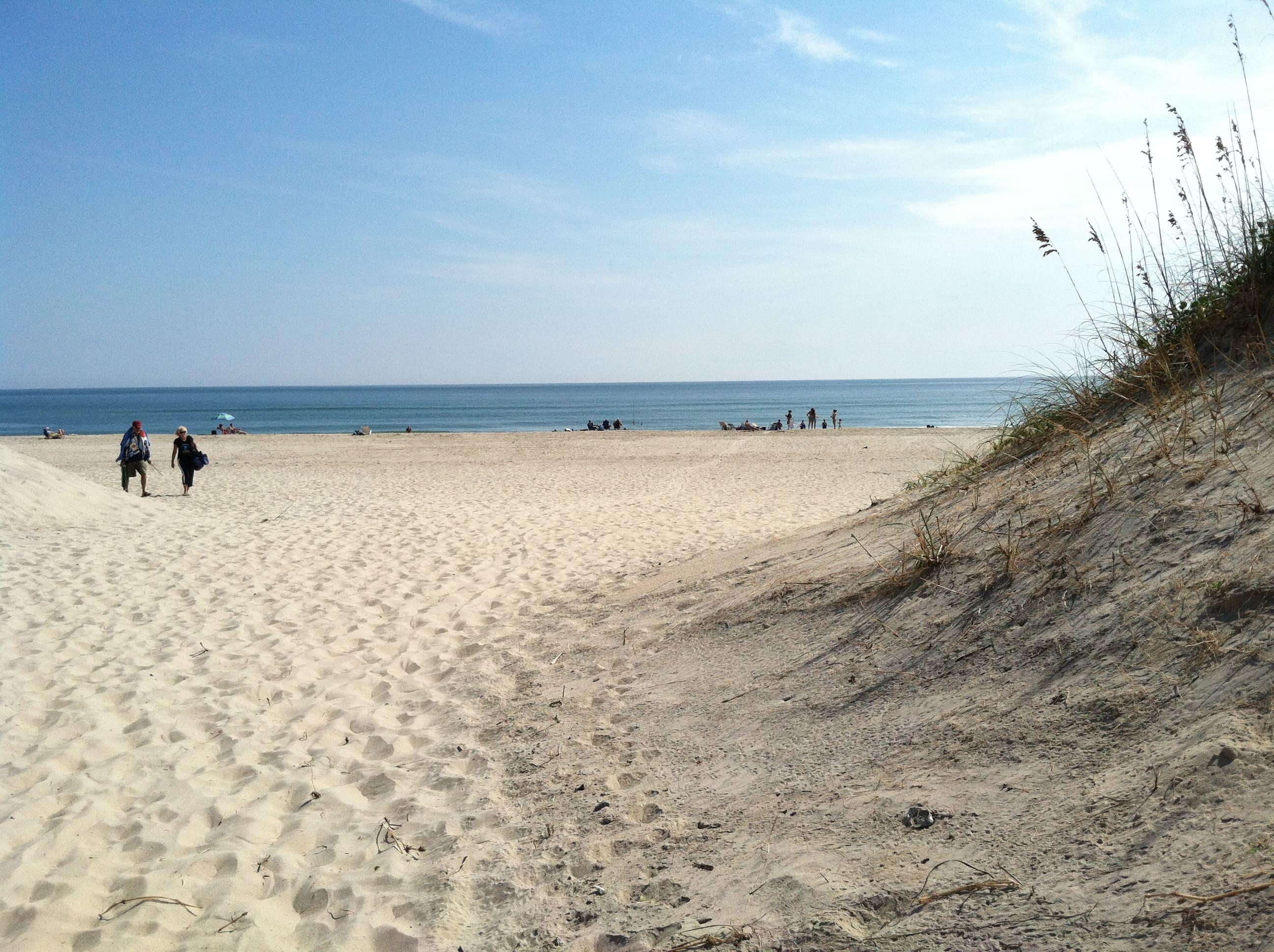 Мекка серферов Ocracoke Lifeguarded Beach, Северная Каролина