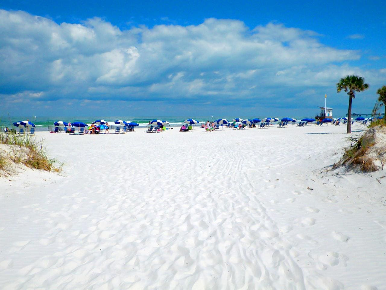 Пляж Сиеста Бич, Флорида
