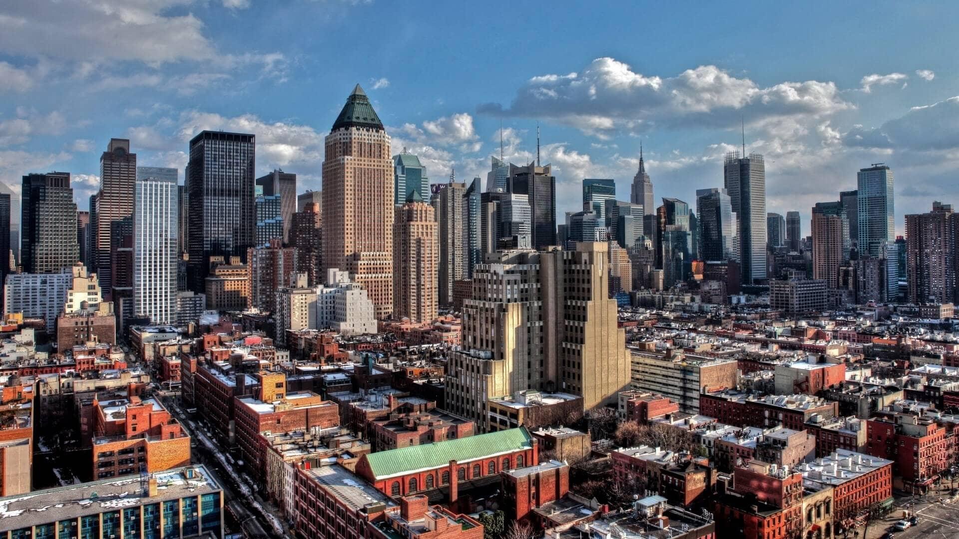 Красивые города США. Нью-Йорк